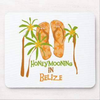 Honeymooning in Belise Mousepad