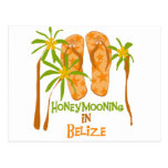 Honeymooning in Belise Post Card
