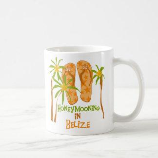 Honeymooning in Belize Coffee Mug