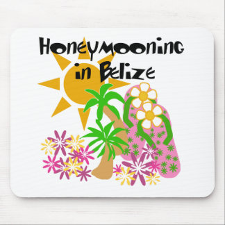 Honeymooning in Belize Mouse Pad