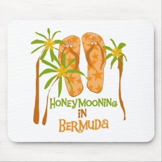 Honeymooning in Bermuda Mousepad