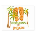 Honeymooning in Bermuda Postcards