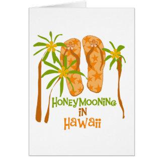 Honeymooning in Hawaii Card