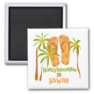 Honeymooning in Hawaii Magnet