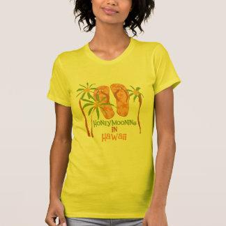 Honeymooning in Hawaii T-shirts