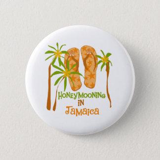 Honeymooning in Jamaica Button