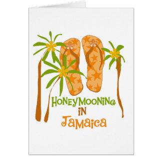 Honeymooning in Jamaica Greeting Card