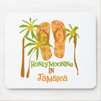 Honeymooning in Jamaica Mouse Mat