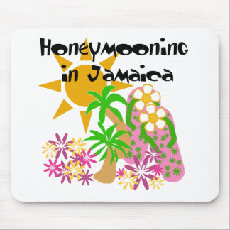 Honeymooning in Jamaica Mouse Pad