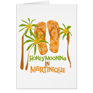 Honeymooning in Martinique Greeting Card