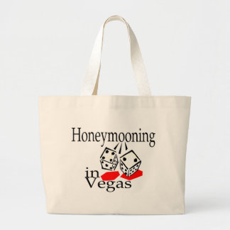 Honeymooning In Vegas Large Tote Bag