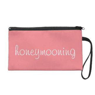 """""""Honeymooning"""" wristlet! Wristlet"""
