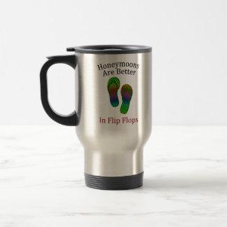 Honeymoons Are Better in Flip Flops Mug
