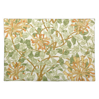 Honeysuckle by William Morris Placemat