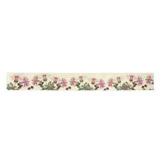 Honeysuckle Floral Flowers Garden Ribbon Satin Ribbon