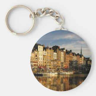 Honfleur, France Key Ring