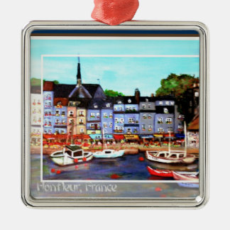 Honfleur, France Painting Ornament
