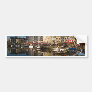 Honfleur Harbour Bumper Sticker