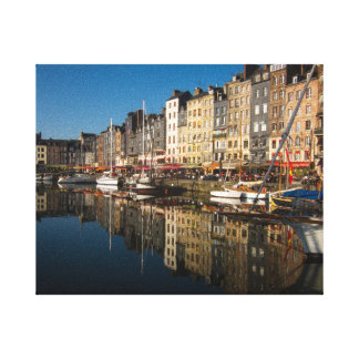 Honfleur Harbour Canvas Print