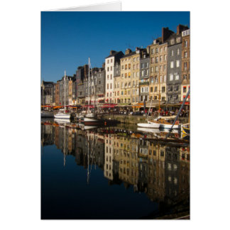 Honfleur Harbour Card