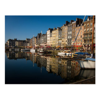 Honfleur Harbour Postcard