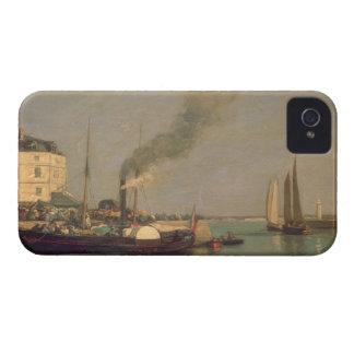 Honfleur. La Jetee, 1854-57 (oil on panel) iPhone 4 Covers