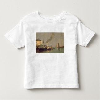 Honfleur. La Jetee, 1854-57 (oil on panel) Toddler T-Shirt