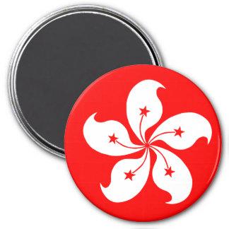 Hong Kong 7.5 Cm Round Magnet