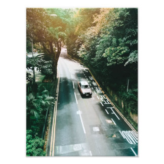 Hong Kong Car Photo Print