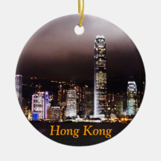 Hong Kong Christmas Ornament