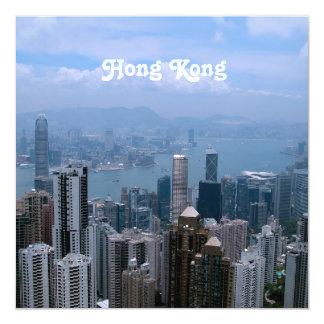 Hong Kong Cityscape Card