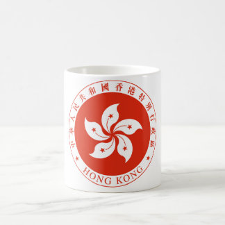 Hong Kong Coat of arms HK Coffee Mug