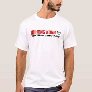Hong Kong Dim Sum Company - White T-Shirt