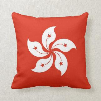 Hong Kong Flag American MoJo Pillow Throw Cushion