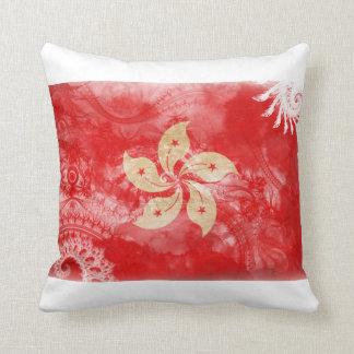 Hong Kong Flag Cushion