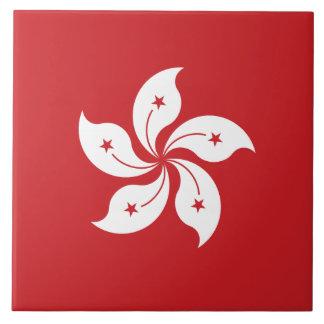 Hong Kong Flag Tile