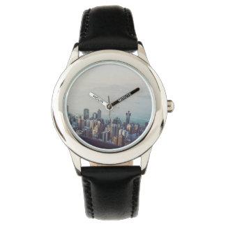 Hong Kong From Above Custom Design Watch