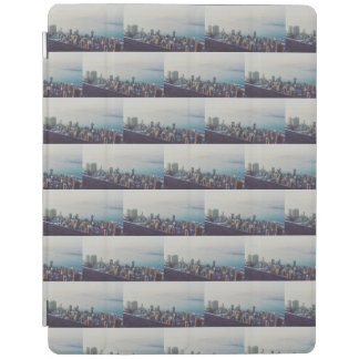 Hong Kong From Above Pattern iPad Cover