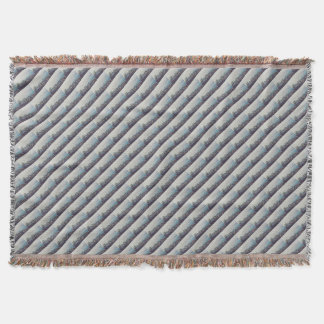 Hong Kong From Above Pattern Throw Blanket