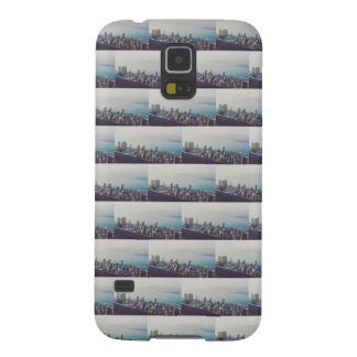 Hong Kong From Above Tile Pattern Galaxy S5 Covers