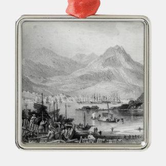 Hong-Kong from Kow-loon Christmas Ornament