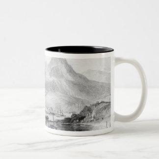 Hong-Kong from Kow-loon Two-Tone Coffee Mug