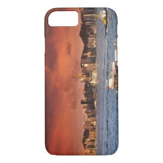 Hong Kong Harbor at Sunset iPhone 8/7 Case