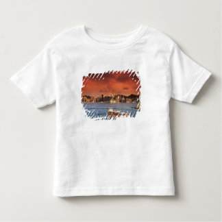 Hong Kong Harbor at Sunset Toddler T-Shirt