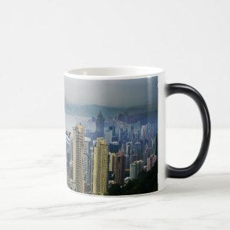 Hong Kong Harbor Mists Morphing Mug