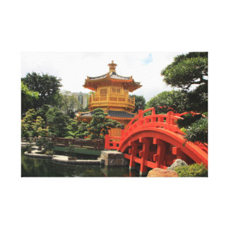 Hong Kong Harmony Canvas Print