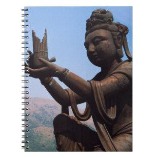 Hong Kong, Lantau Island, Po Lin Monastery Notebooks