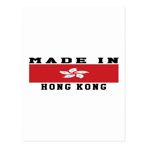 Hong Kong Made In Designs Post Cards