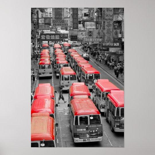 Hong Kong Minivans Poster
