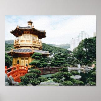 Hong Kong Nan Lian Garden Poster